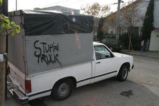 Stupid truck