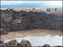 BBC NEWS | Americas | Scores ill in Peru 'meteor crash'